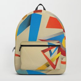 Abstractionist – Pyramids Backpack