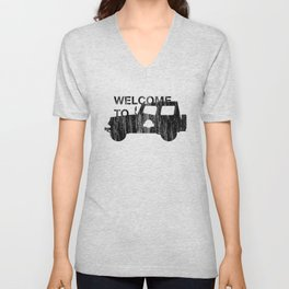 Welcome To... Unisex V-Neck