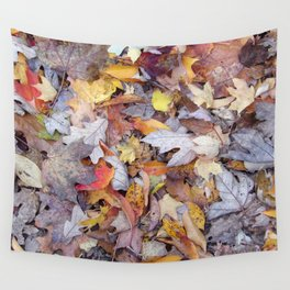leaf litter menagerie Wall Tapestry