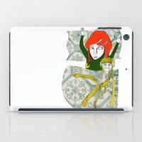 tina iPad Cases featuring Tina&Ape by eva vasari
