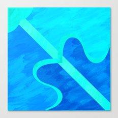 Sagittarius pattern Canvas Print