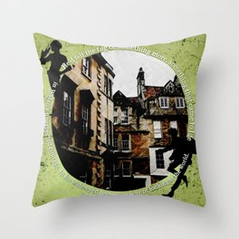 Jesper and Wylan - Unexpected Throw Pillow