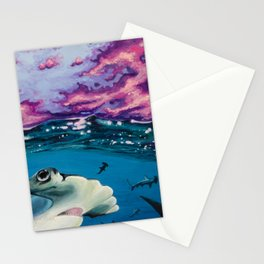 Hammerhead Storm Stationery Cards