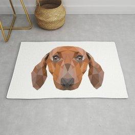 Dachshund Dog Rug