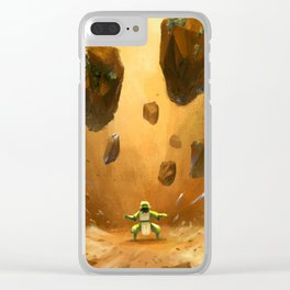 Earthbender Clear iPhone Case