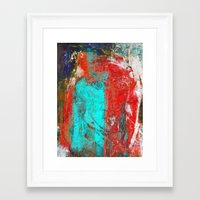 picasso Framed Art Prints featuring Picasso by Fernando Vieira
