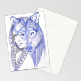 She Wolf Stationery Cards