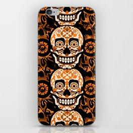 Halloween Calaveras iPhone Skin