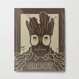 I. Am. Metal Print