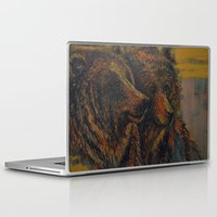 bears Laptop & iPad Skins featuring Bears by lyneth Morgan