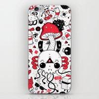 calavera iPhone & iPod Skins featuring Calavera by Giulia Marchetti