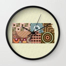 Kansas State Map Wall Clock