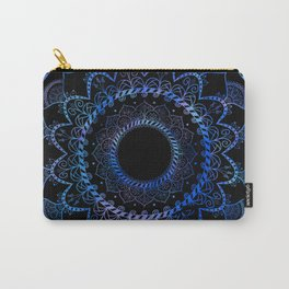 Got the Blues Mandala Carry-All Pouch
