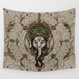 Lord Ganesha - Canvas Lord Ganesha - Canvas Wall Tapestry