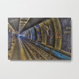 Tube To Hell Metal Print