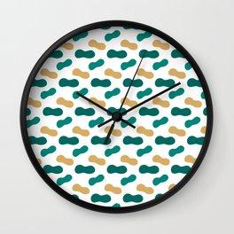 Modern geometric shapes pattern 16 Wall Clock