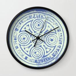 notting hill blues Wall Clock