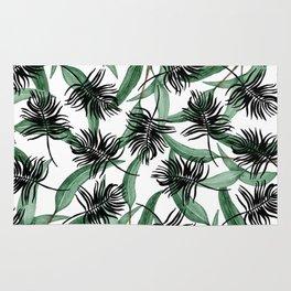 Botanic pattern Rug
