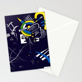 Wassily Kandinsky Small Worlds VII Stationery Cards