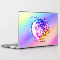 hakuna Laptop & iPad Skins featuring Hakuna Matata by Laura Santeler