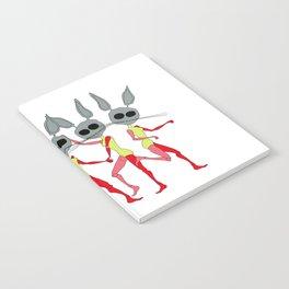 defective rabbit Notebook