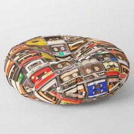 Something Nostalgic V - Music - Global Language #decor #society6 #buyart Floor Pillow