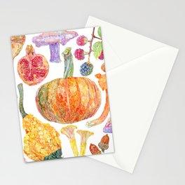 Seasonal Fruits Stationery Cards