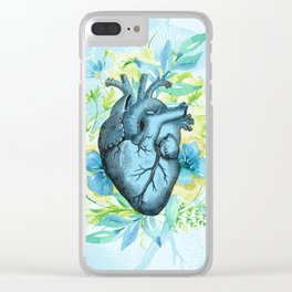 Rest Your Heart Here, Dear Clear iPhone Case