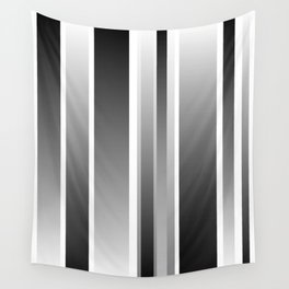 Color Black gray Wall Tapestry