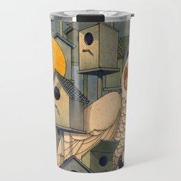 Birdhouses Travel Mug