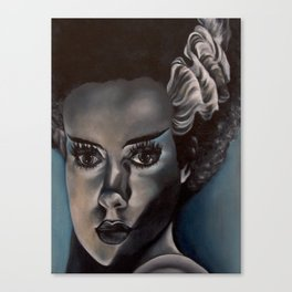 Frankenstein's Bride Canvas Print