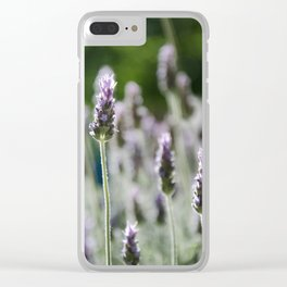The Curious Stand Out Clear iPhone Case