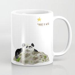 Panda - Make a wish Coffee Mug