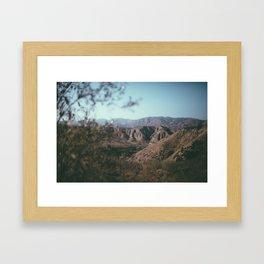 Angels National Forest Framed Art Print