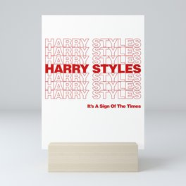Harry Styles - Sign Of The Times ('Thank You' bag style) Mini Art Print