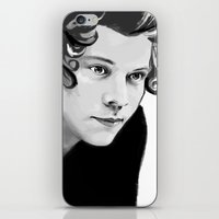 harry iPhone & iPod Skins featuring Harry by GirlApe
