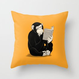 Origin of Species Throw Pillow