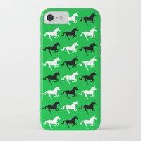 unicorns iPhone & iPod Cases featuring Unicorns by Fabian Bross