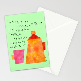 Our Feelings Are Valid - Mental Health Self-Love Illustration Tea Pot Coffee Cup  Stationery Cards