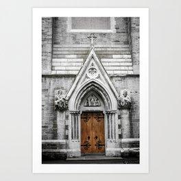 Maynooth Church Pt.2 Art Print