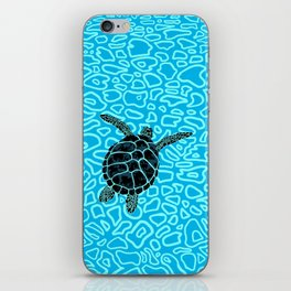 Sea Turtle by Black Dwarf Designs iPhone Skin