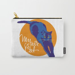 My fair cat in the blue Carry-All Pouch