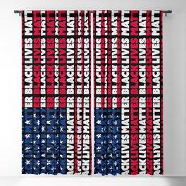 BLACK LIVES MATTER Flag Blackout Curtain