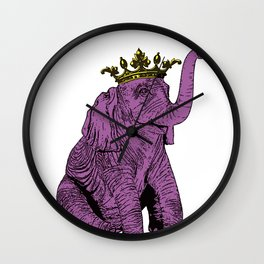 """Olli the Elephant"" Wall Clock"