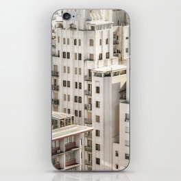 Montevideo Cityscape Aerial View iPhone Skin