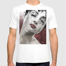 Venom and Tears White Mens Fitted Tee MEDIUM