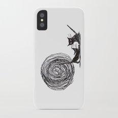 Moon me kitty iPhone X Slim Case