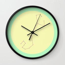 SCORPIO (PASTEL DESIGN) Wall Clock