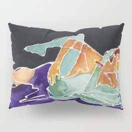 Opposites Attract Pillow Sham