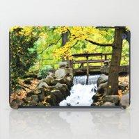 waterfall iPad Cases featuring Waterfall by Juliana RW
